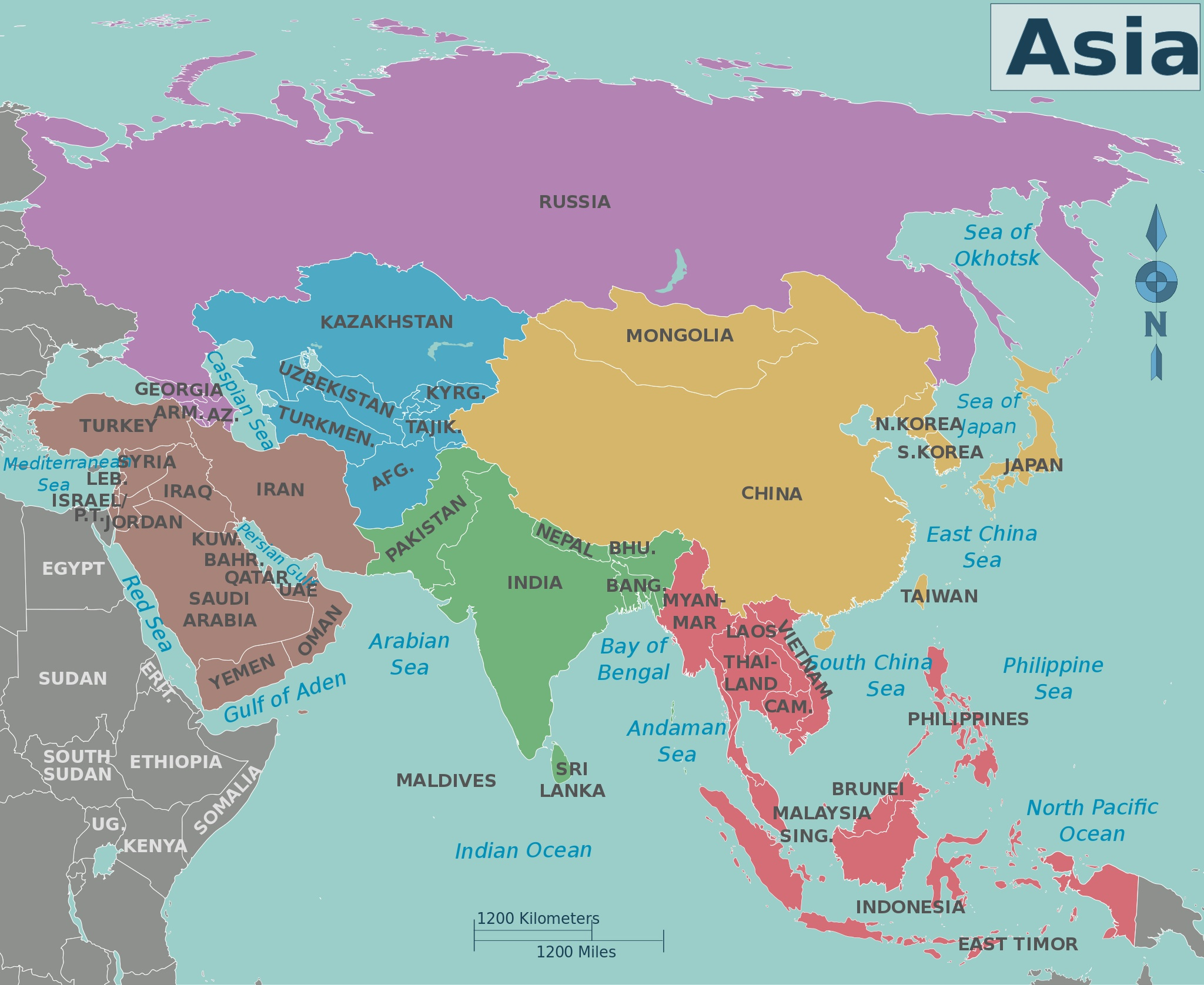 2013-2016 Asia Election Calendar | Asian Network for Free ...